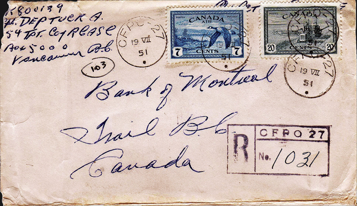 collecting-canada-war-and-peace-canadian-forces-post-office-korea-cover