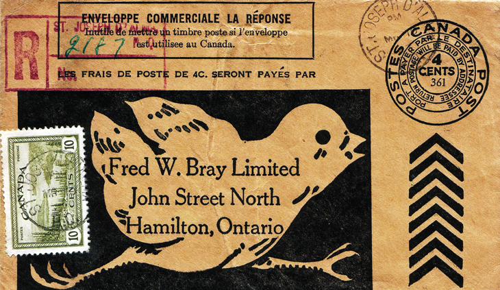 collecting-canada-war-and-peace-registered-business-reply-cover-hamilton-ontario