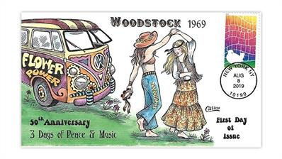 collins-cachet-woodstock-50th-anniversary-stamp-first-day-cover