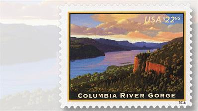 columbia-river-gorge-priority-mail-express-stamp