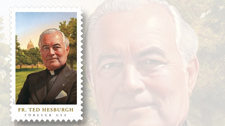 commemorative-forever-stamp-honoring-father-ted-hesburgh