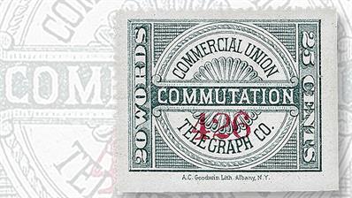 commercial-union-telegraph-company-commutation-telegraph-stamp