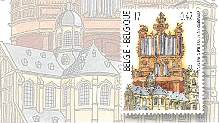computers-and-stamps-belgium-pipe-organ-norbertine-abbey-church