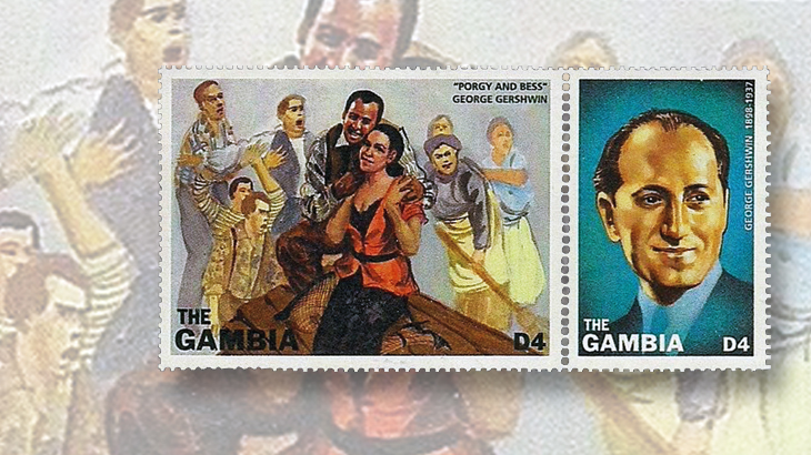 computers-and-stamps-george-gershwin-gambia-classical-music-blog