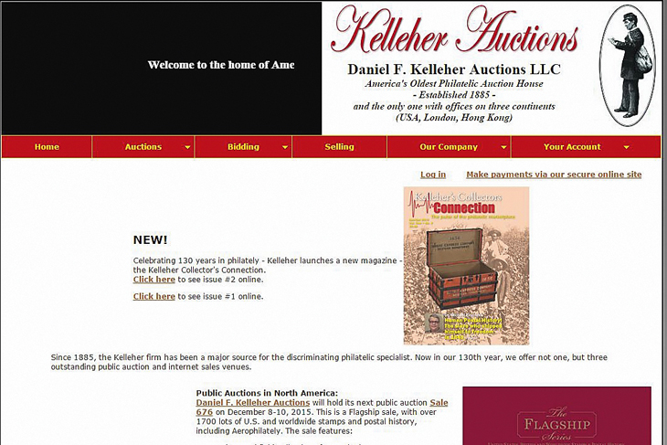 computers-and-stamps-kelleher-website-homepage