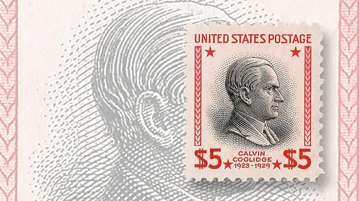 computers-and-stamps-siegel-website-2009-auction-dollar5-calvin-coolidge-jumbo-margins