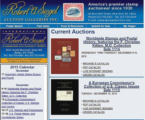 computers-and-stamps-siegel-website-homepage