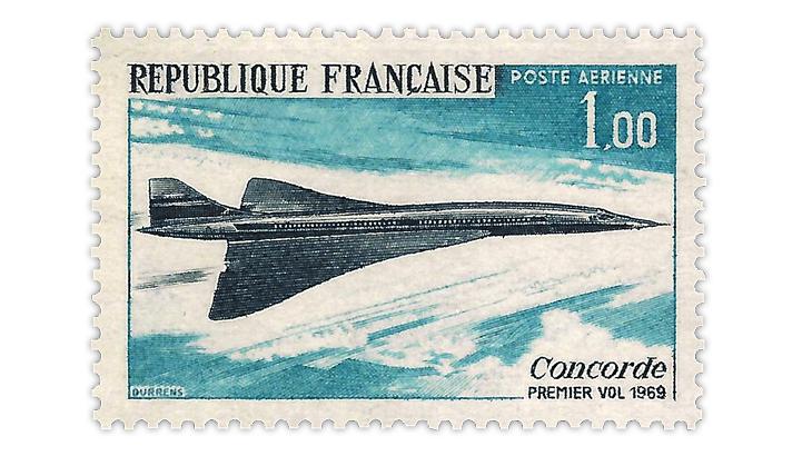 concorde-1969-stamp