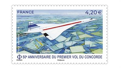 concorde-anniversary-stamp