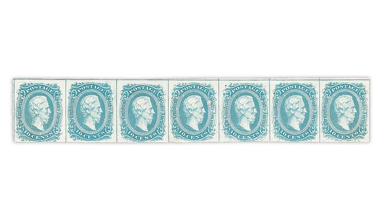 confederate-states-1863-10-cent-jefferson-davis-stamp-strip