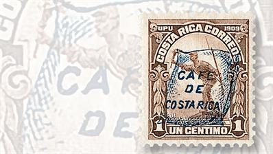 costa-rica-coffee-overprint-stamp