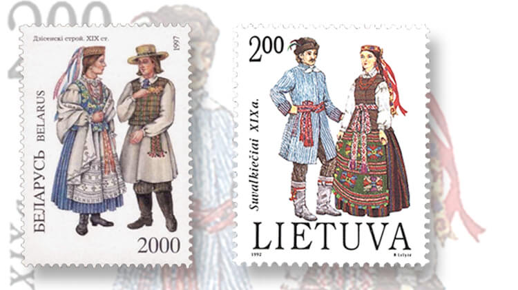 costumes-stamp