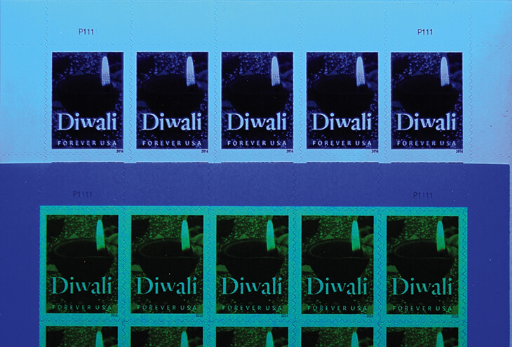 counterfeit-panes-united-states-diwali-forever-stamps-blue-light