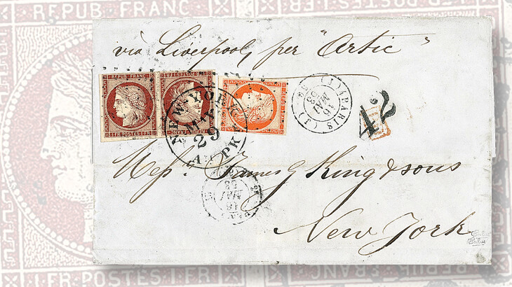 cover-1849-tete-beche-one-franc-ceres