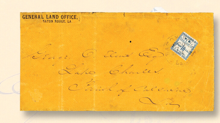 cover-baton-rough-ten-cent-postmasters-provisional-stamp