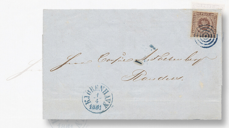 cover-first-denmark-stamp-issue