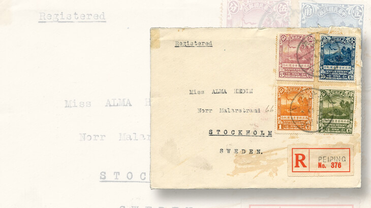 cover-northwest-scientific-expedition-stamps