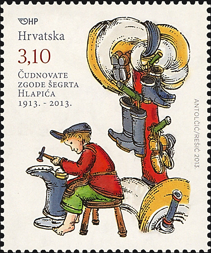 croatia-little-shoemaker-stamp-2013