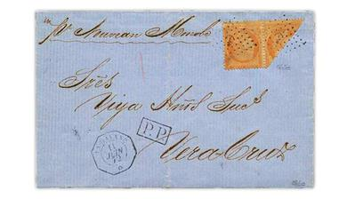 cuba-mexico-france-ceres-bisect-pair-1872-cover
