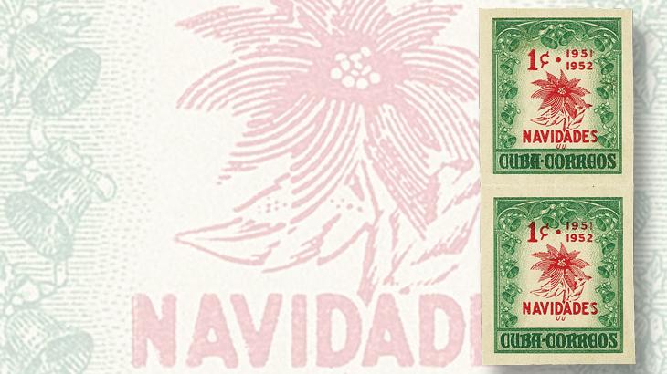 cuba-poinsettia-christmas-stamp