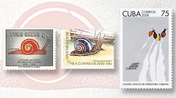 cuba-snail-stamps