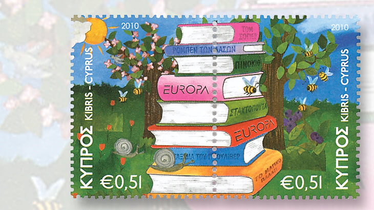 cyprus-2010-europa-snail-stamps