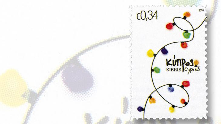 Minimalist Christmas stamps