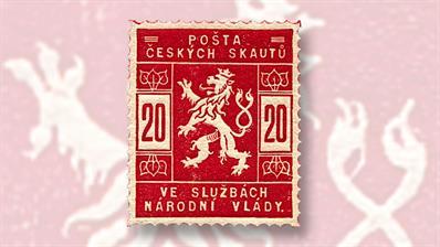 czech-lion-20-stamp