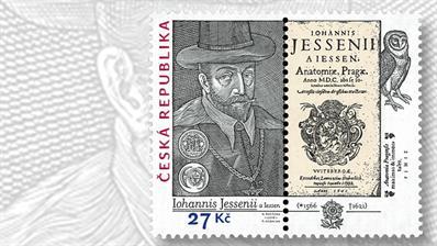 czech-republic-jan-jessenius-stamp