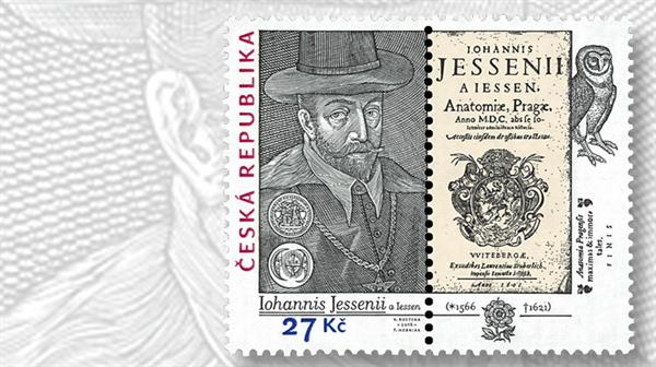 czech-republic-jan-jessenius-stamp