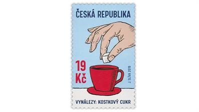 czech-republic-sugar-cube-invention-postage-stamp