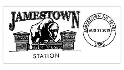 dakota-thunder-buffalo-sculpture-postmark