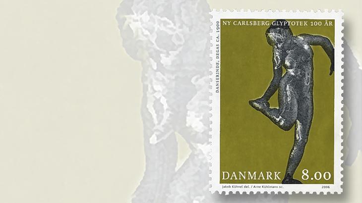danish-art-museum-2006-sculpture-stamp