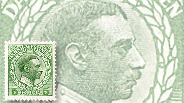 danish-west-indies-king-christian-x-definitive-stamp