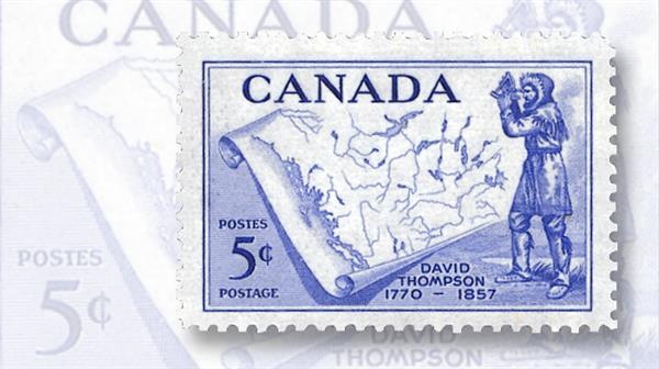 david-thompson-canada-explorer-stamp