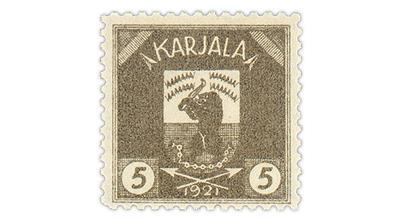 dead-country-karelia-1922-golfing-bear-stamp