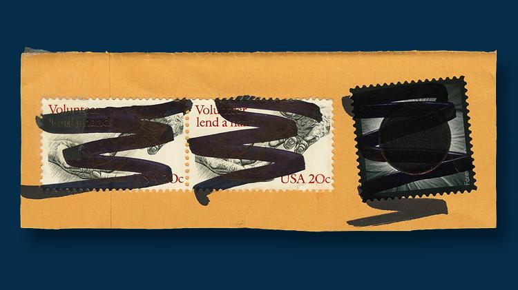 defaced-total-solar-eclipse-stamp