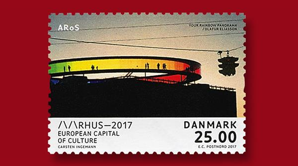 denmark-aarhus-2017-european-capital-culture.stamp