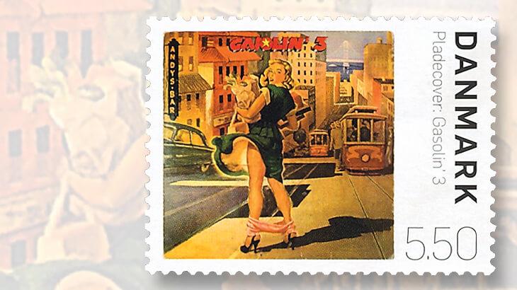 denmark-gasolin-3-album-cover-stamp