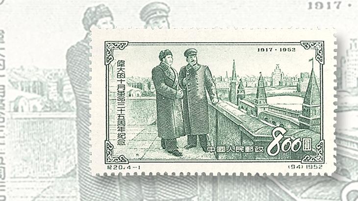 dictators-on-stamps-china-joseph-stalin-mao-tse-tung-stamp