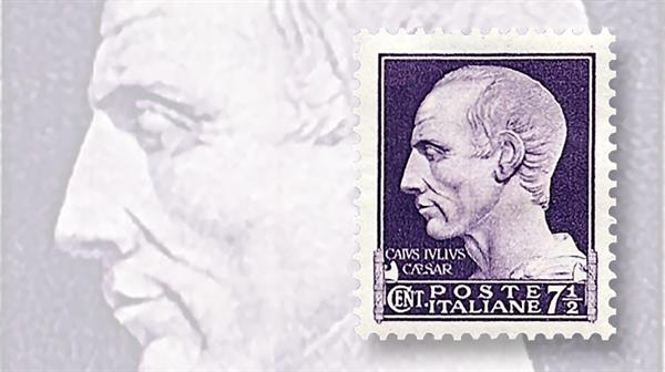 dictators-on-stamps-italy-julius-caesar-stamp-roman-empire