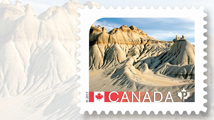 dinosaur-provincial-park-stamp