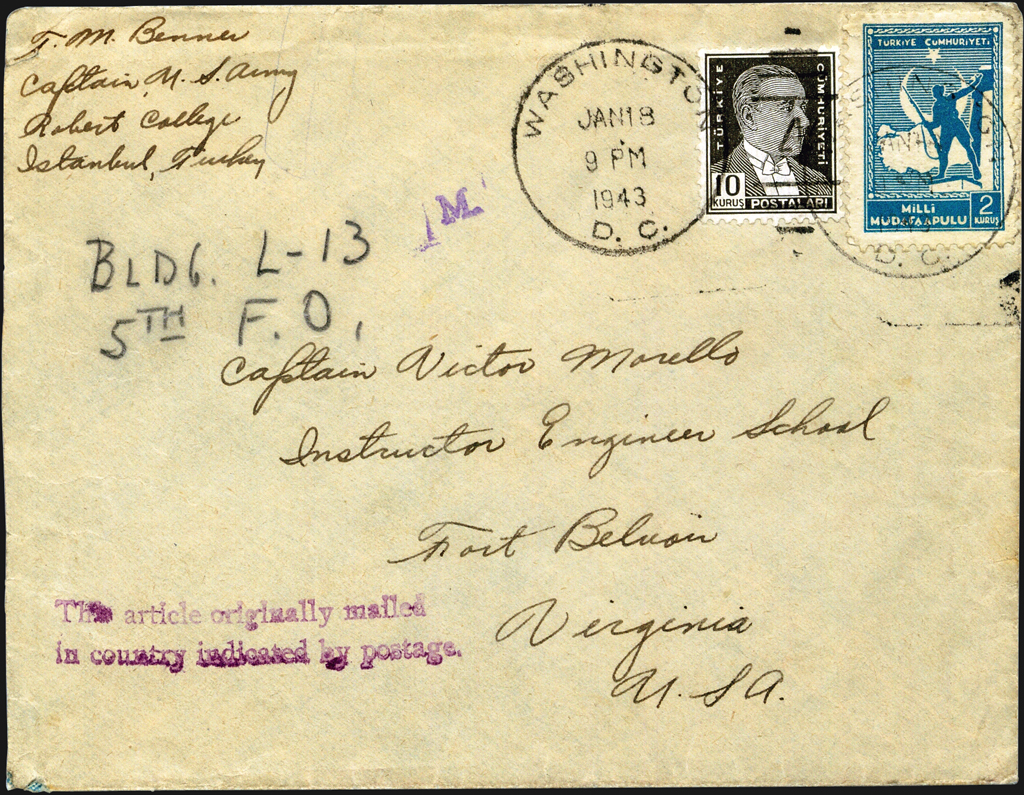 diplomatic-pouch-cover-turkey-egypt-washington-1942-1943