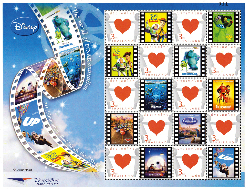 disney-pixar-stamps-thailand-souvenir-sheet-2008