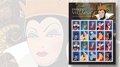 disney-villains-stamps-pane