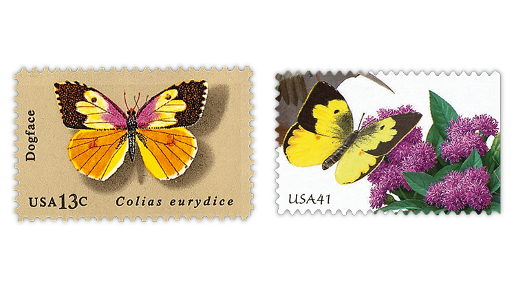 dogface-butterfly-stamps