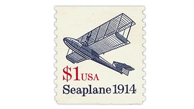 dollar-sign-stamps-1990-seaplane-coil