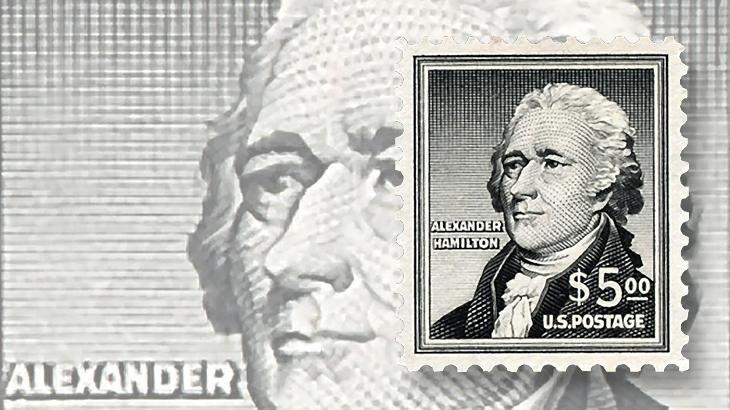 dollar-sign-stamps-dollar5-alexander-hamilton-liberty-series