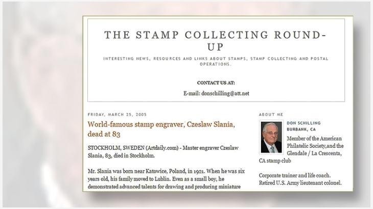 don-schilling-stamp-collecting-roundup-blog-home-page