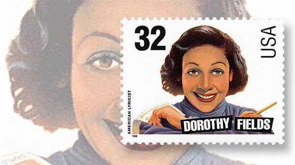 dorothy-fields-songwriter-music-stamp